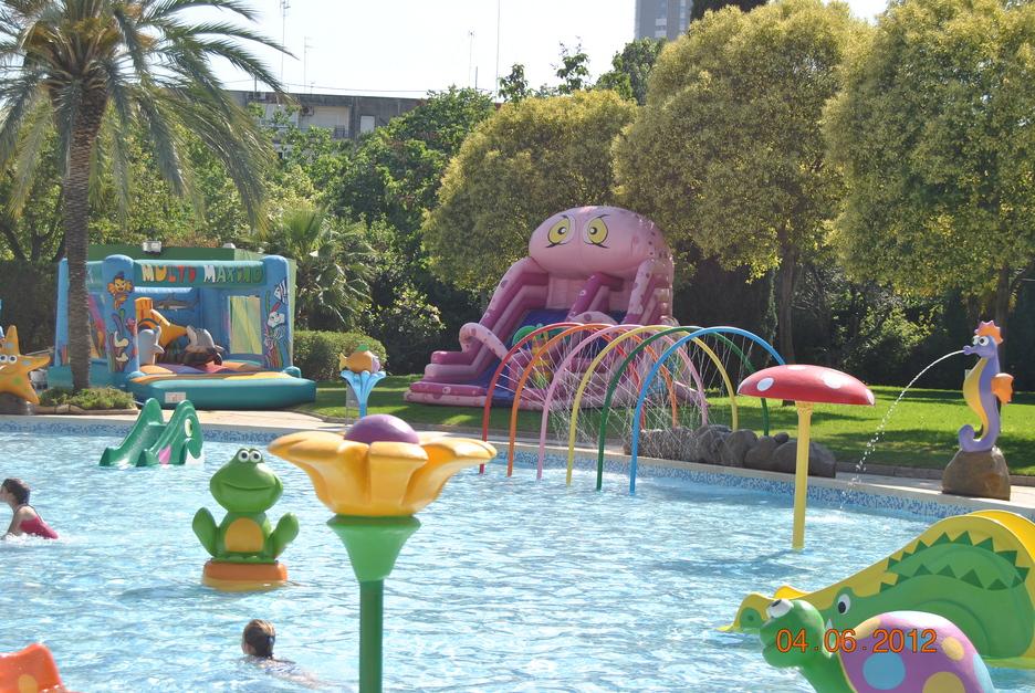 Programaci n de actividades para agosto aquaval for Piscina parque benicalap