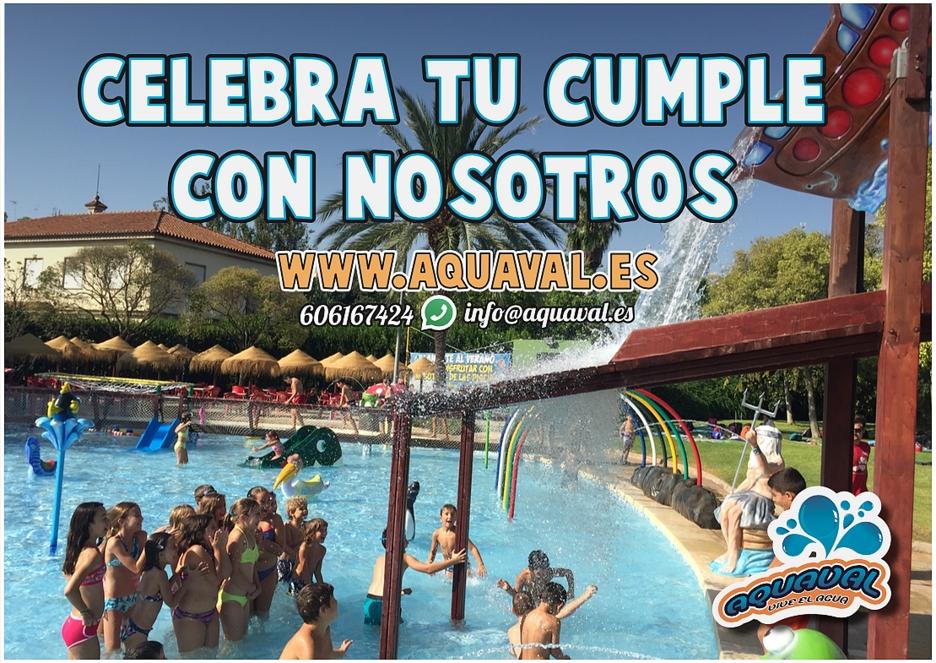 Celebracion De Cumpleanos Y Eventos Aquaval